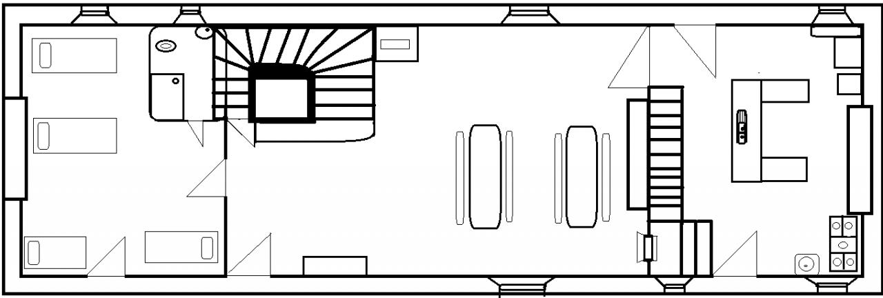 Plan maison bas